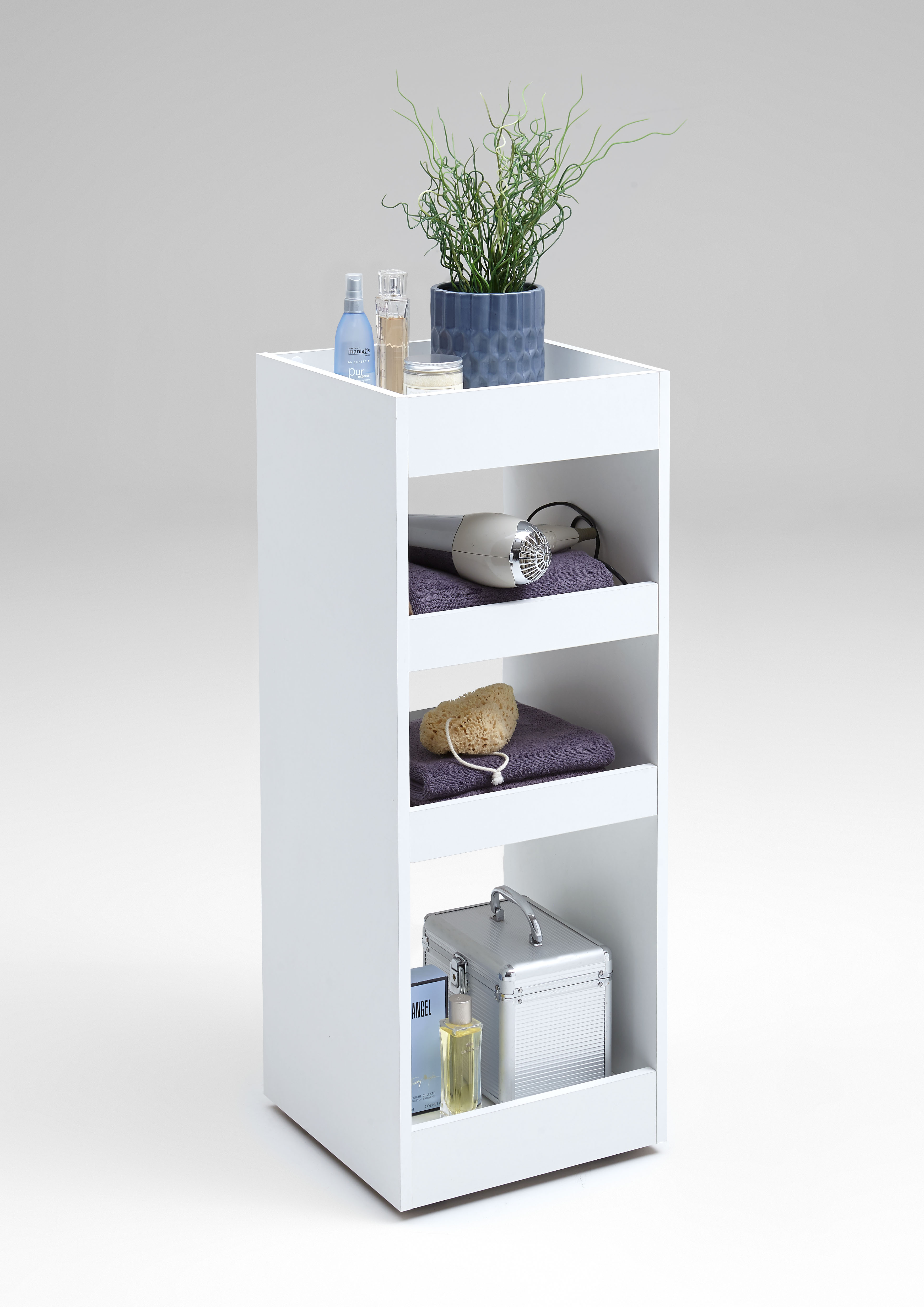 fmd rollregal cordoba 2 regal beistellschrank auf rollen. Black Bedroom Furniture Sets. Home Design Ideas