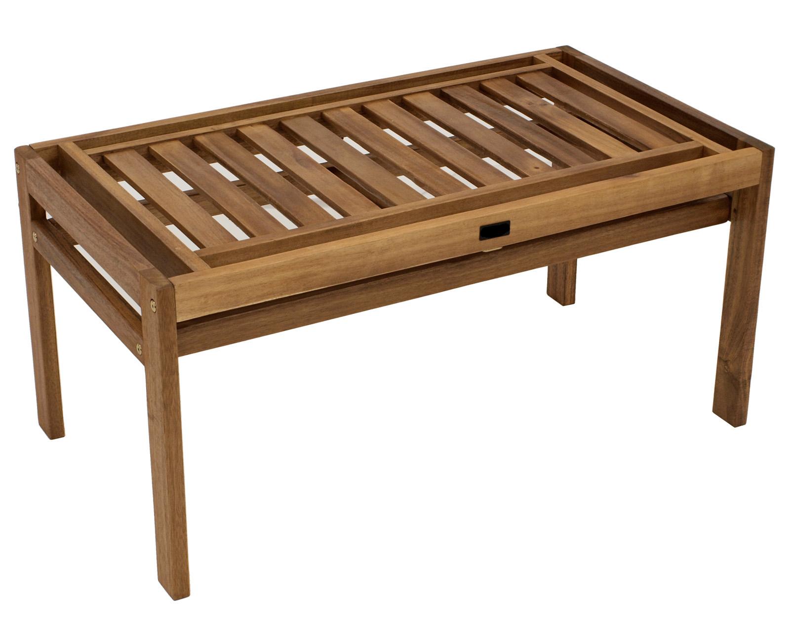 hockerbank modular 2 sitzer gartenbank akazienholz fsc garten bank siena garden ebay. Black Bedroom Furniture Sets. Home Design Ideas