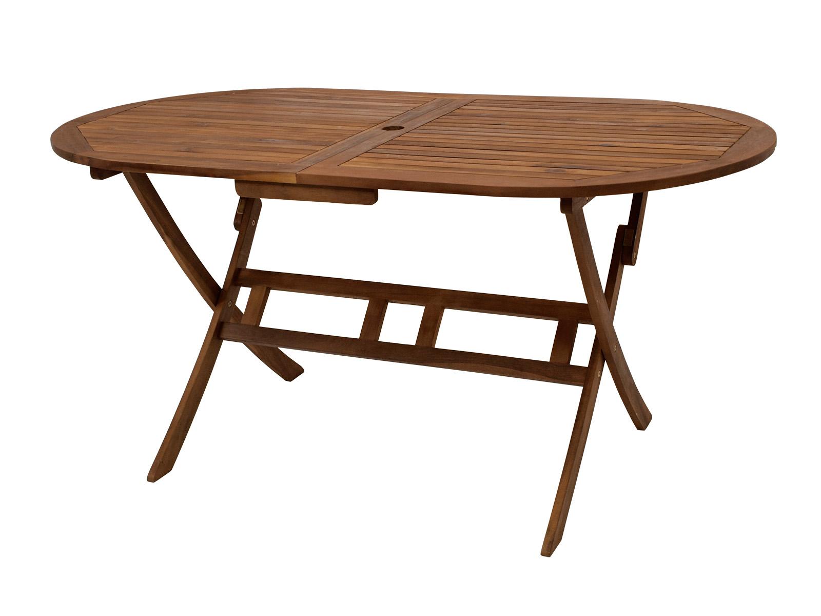 klapptisch benita oval 160x85 cm akazienholz fsc gartentisch garten tisch balkon ebay. Black Bedroom Furniture Sets. Home Design Ideas