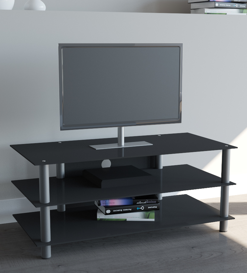 vcm zumbo lcd tv m bel tv m bel led hifi standkonsole rack tisch glas. Black Bedroom Furniture Sets. Home Design Ideas