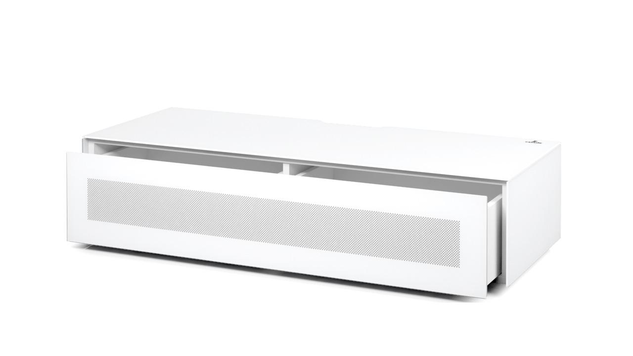 Lowboard Varianto Plano Lbs120 Casado Tv Glas Fernsehschrank Weiss