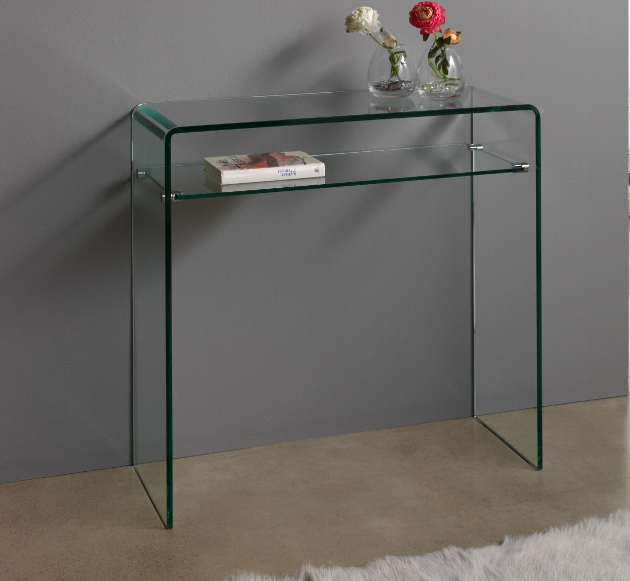 con 03 dupen design glas konsole tisch konsolentisch wandtisch flur diele m bel ebay. Black Bedroom Furniture Sets. Home Design Ideas