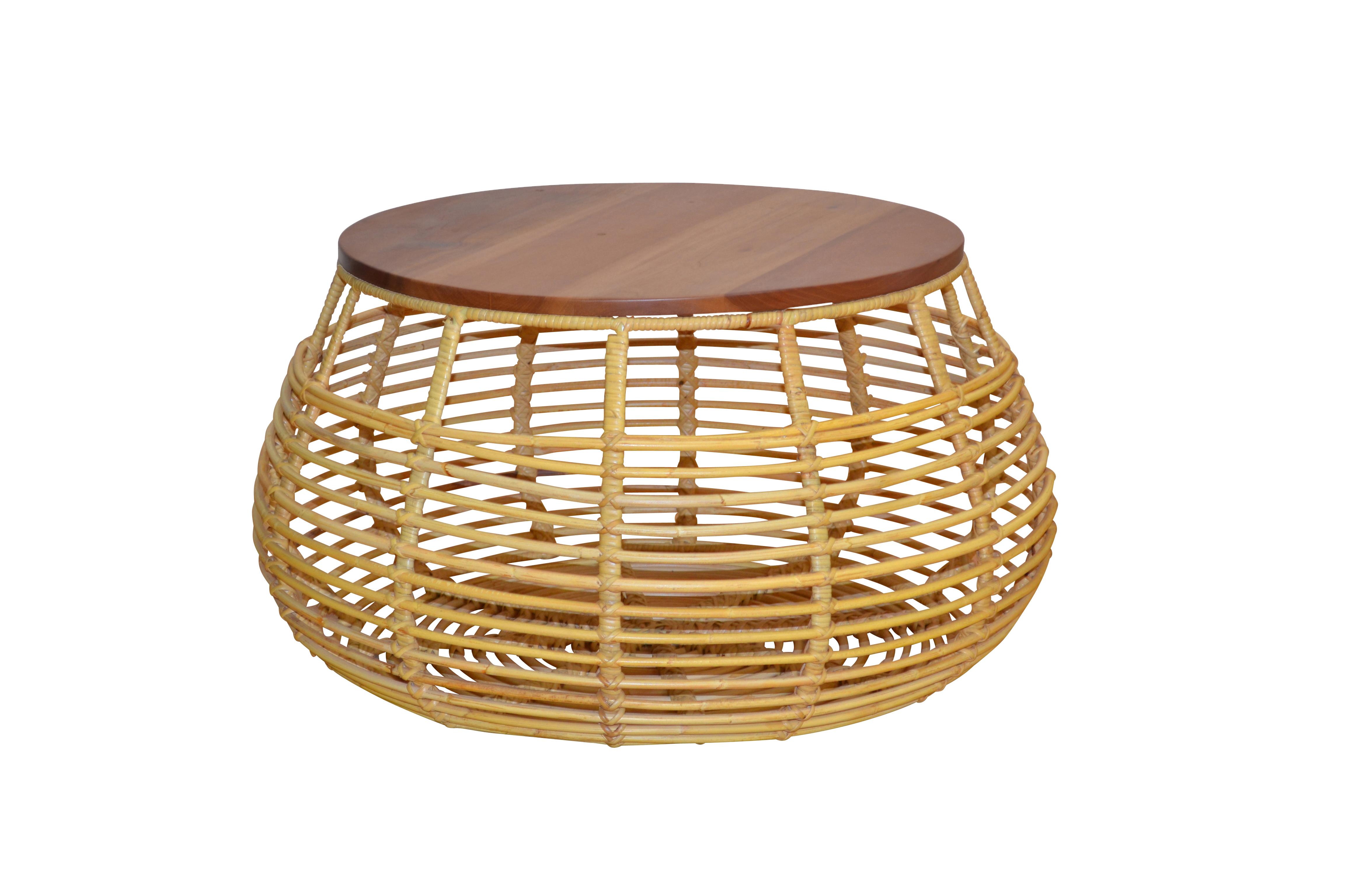 couchtisch aus kubu rattan beistelltisch wohnzimmertisch. Black Bedroom Furniture Sets. Home Design Ideas