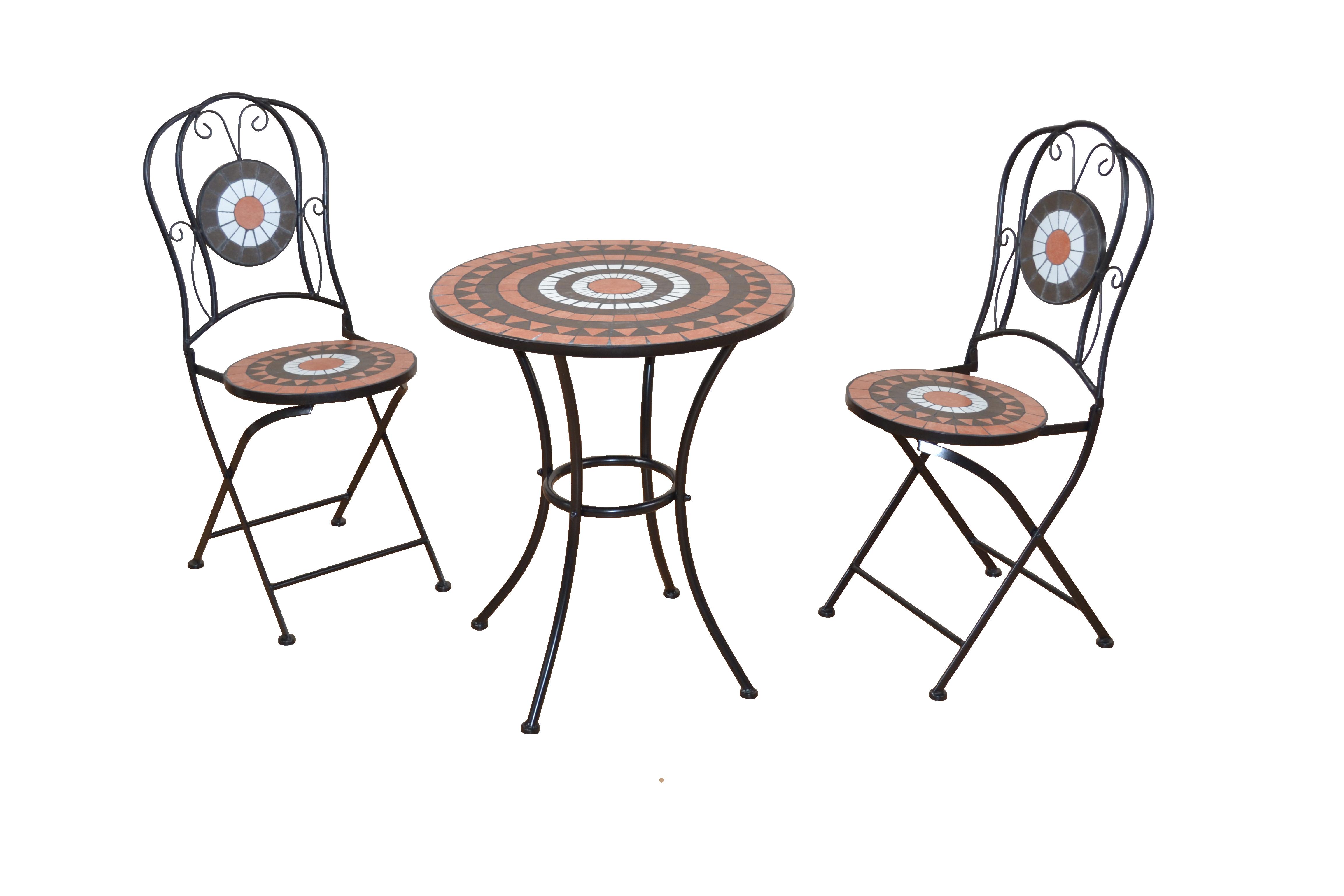 Gartentisch Metalltisch Mit Mosaikplatte Balkontisch Tisch Mosaik