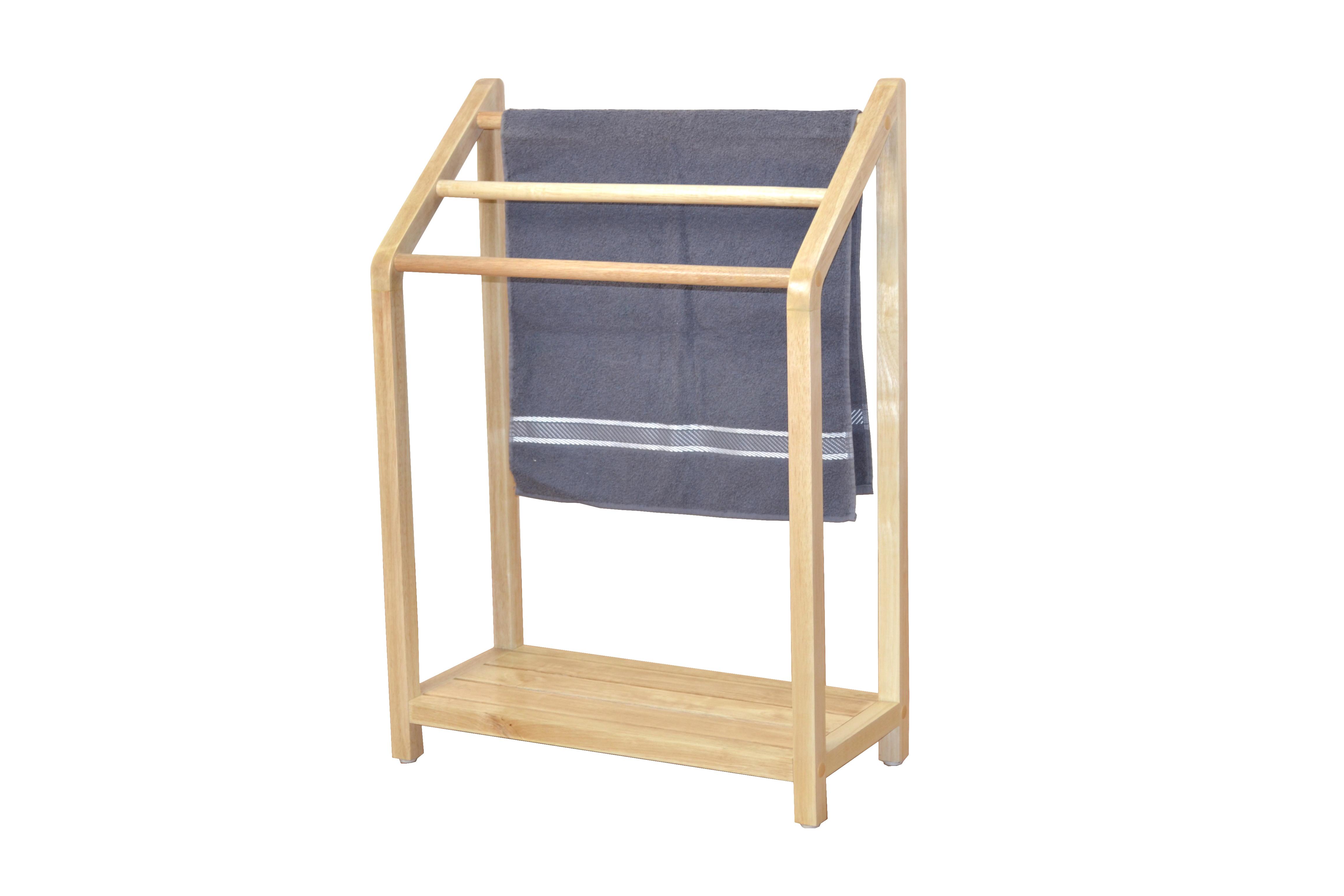 Handtuchhalter aus Massivholz Handtücher Handtuchhalterung