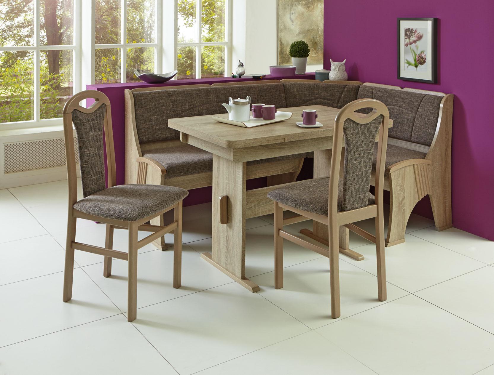 eckbankgruppe rosenheim 4 teilig essgruppe tischgruppe. Black Bedroom Furniture Sets. Home Design Ideas