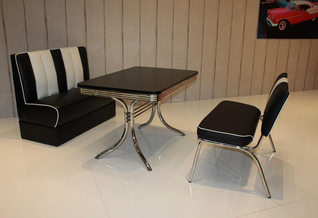 bankgruppe vegas paul king 6 american diner 50er jahre. Black Bedroom Furniture Sets. Home Design Ideas