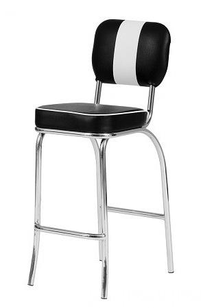 barstuhl paul 4er set american diner 50er jahre las vegas. Black Bedroom Furniture Sets. Home Design Ideas
