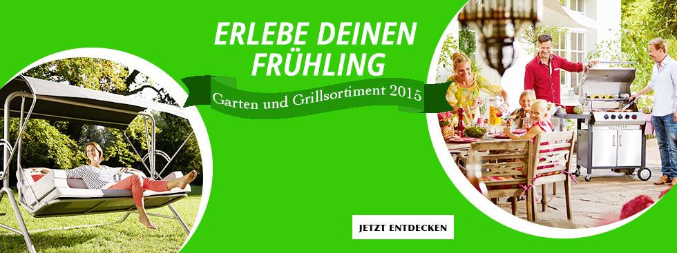 Garten und Grill Sortiment 2015